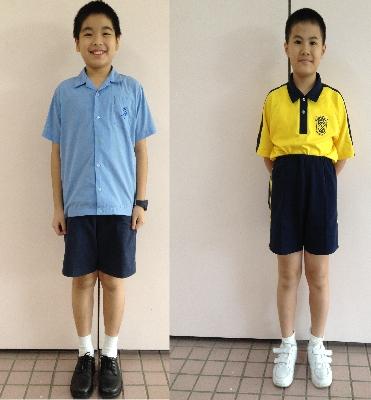 中学生夏季校服设计图展示图片